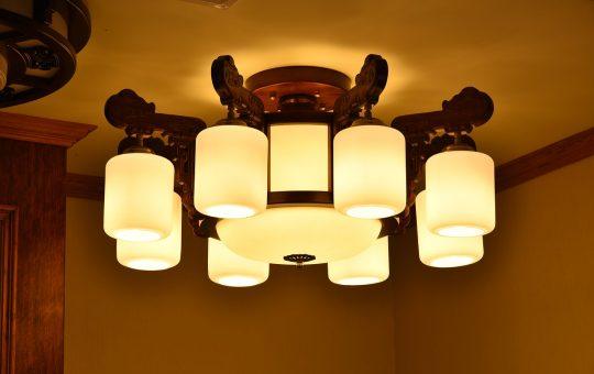 Różne rodzaje oświetlenia sufitowego do kuchni